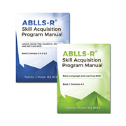Picture of ABLLS-R Skill Acquisition Program Manual (SET)